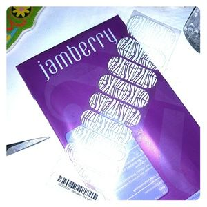 Jamberry nail wraps Between the Line